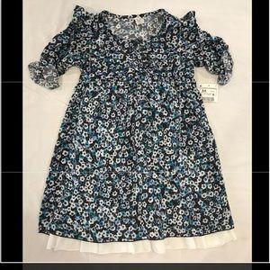 ZARA NWT dress floral 5-6